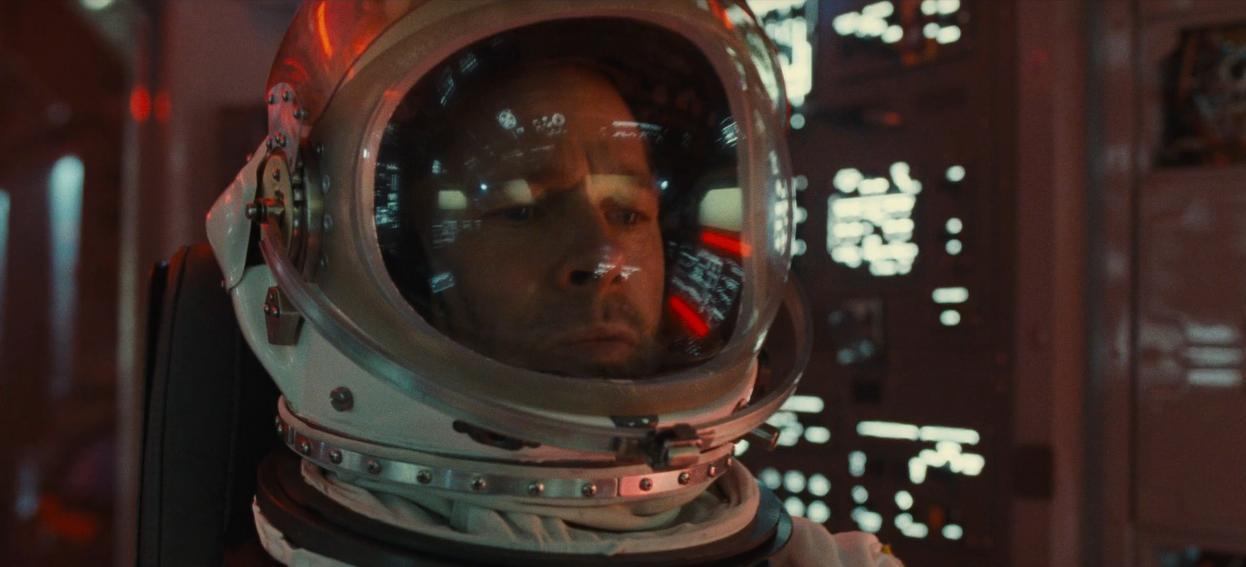 Astronaut Roy McBride (Brad Pitt) in Ad Astra (2019)