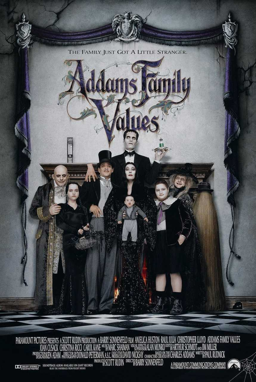 Addams Family Values (1993) poster