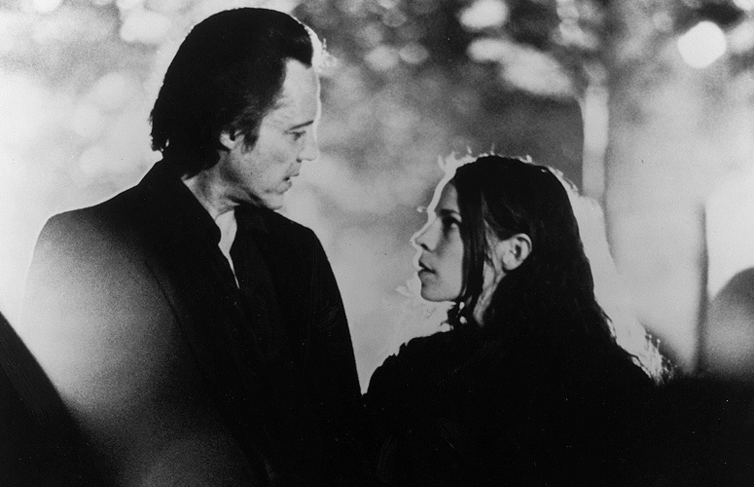 Christopher Walken, Lili Taylor in The Addiction (1995)