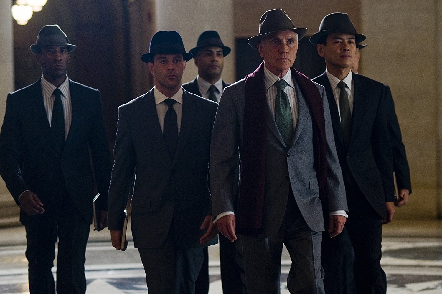 The man in hats from The Adjustment Bureau (2011)