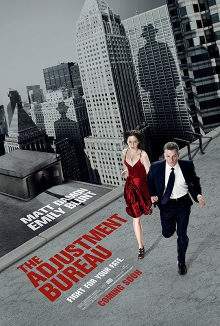 The Adjustment Bureau (2011) poster