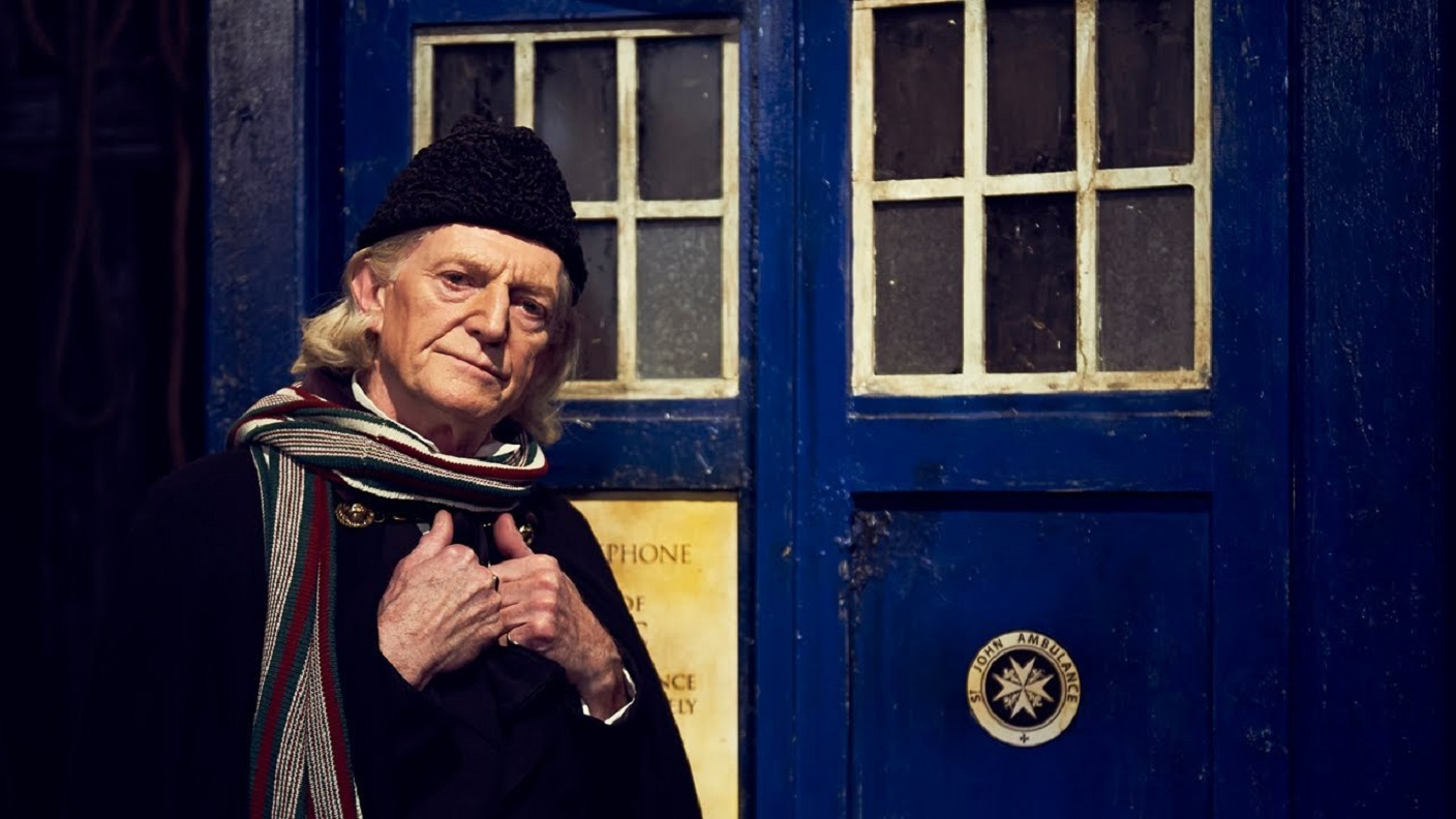 David Barclay as William Hartnell playing The First Doctor in An Adventure in Space and Time (2013)