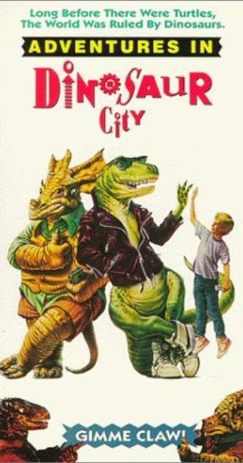 Adventures in Dinosaur City (1991) poster