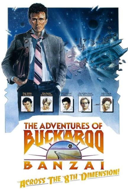 The Adventures of Buckaroo Banzai Across the 8th Dimension (1984) poster