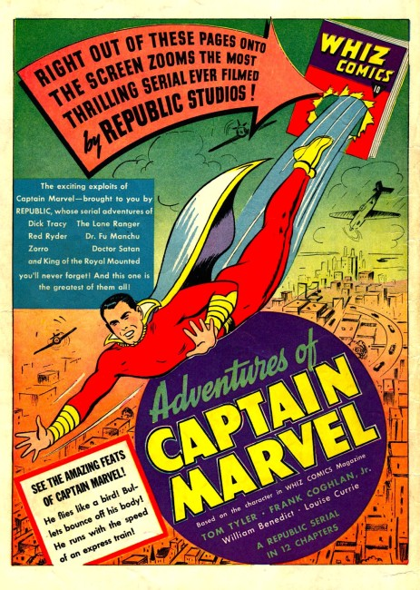 Adventures of Captain Marvel (1941) poster