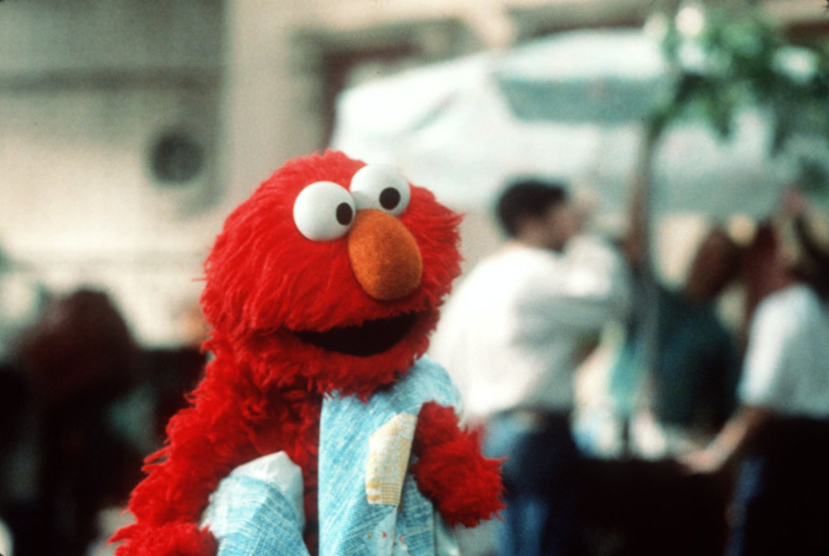 Elmo himself (as performed by Kevin Clash) in The Adventures of Elmo in Grouchland (1999)