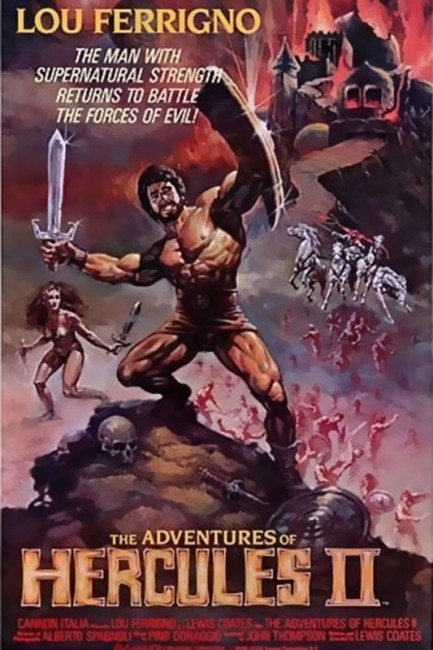 The Adventures of Hercules (1985) poster