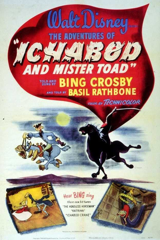 The Adventures of Ichabod and Mr. Toad (1949) poster