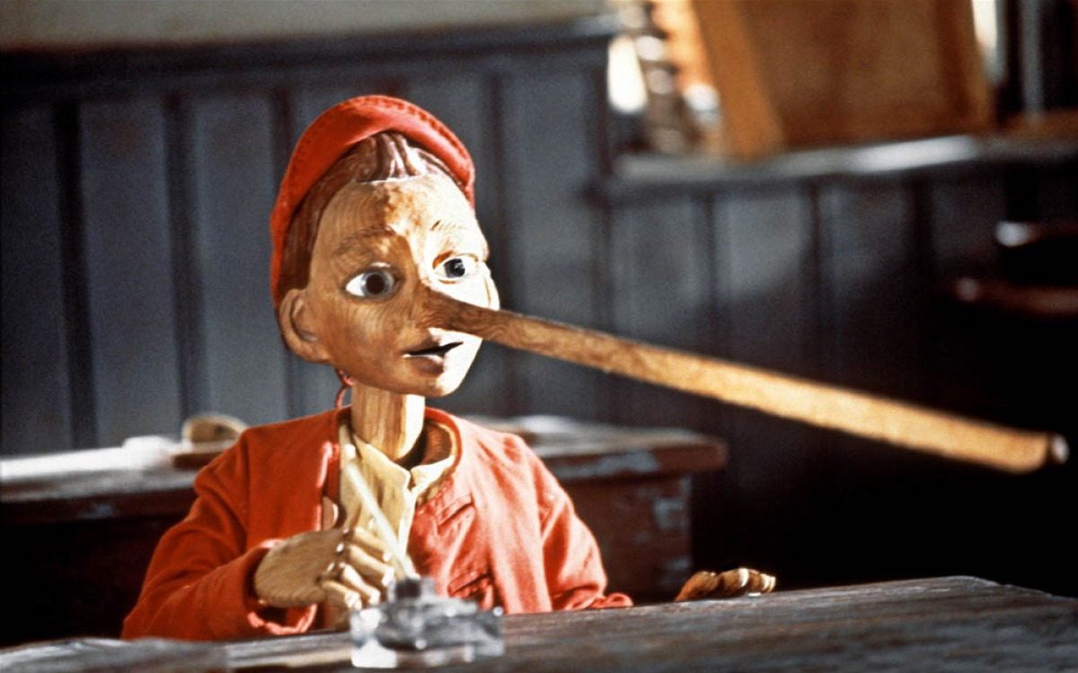 A CGI created Pinocchio in The Adventures of Pinocchio (1996)