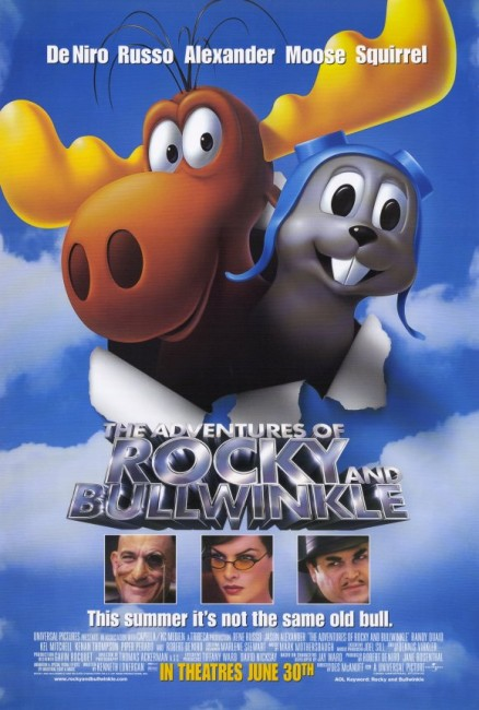 The Adventures of Rocky and Bullwinkle (2000) poster