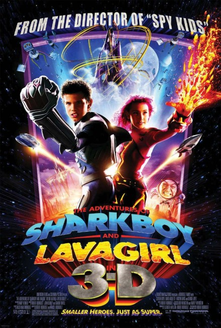 The Adventures of Sharkboy and Lavagirl in 3-D (2005) poster