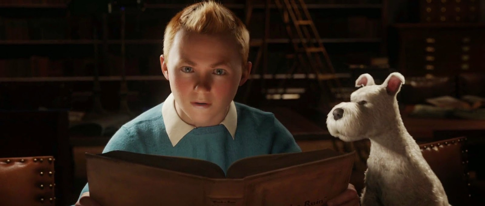Tintin and Snowy in The Adventures of Tintin (2011)