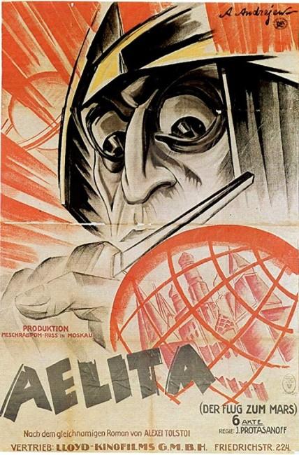 Aelita (1924) poster