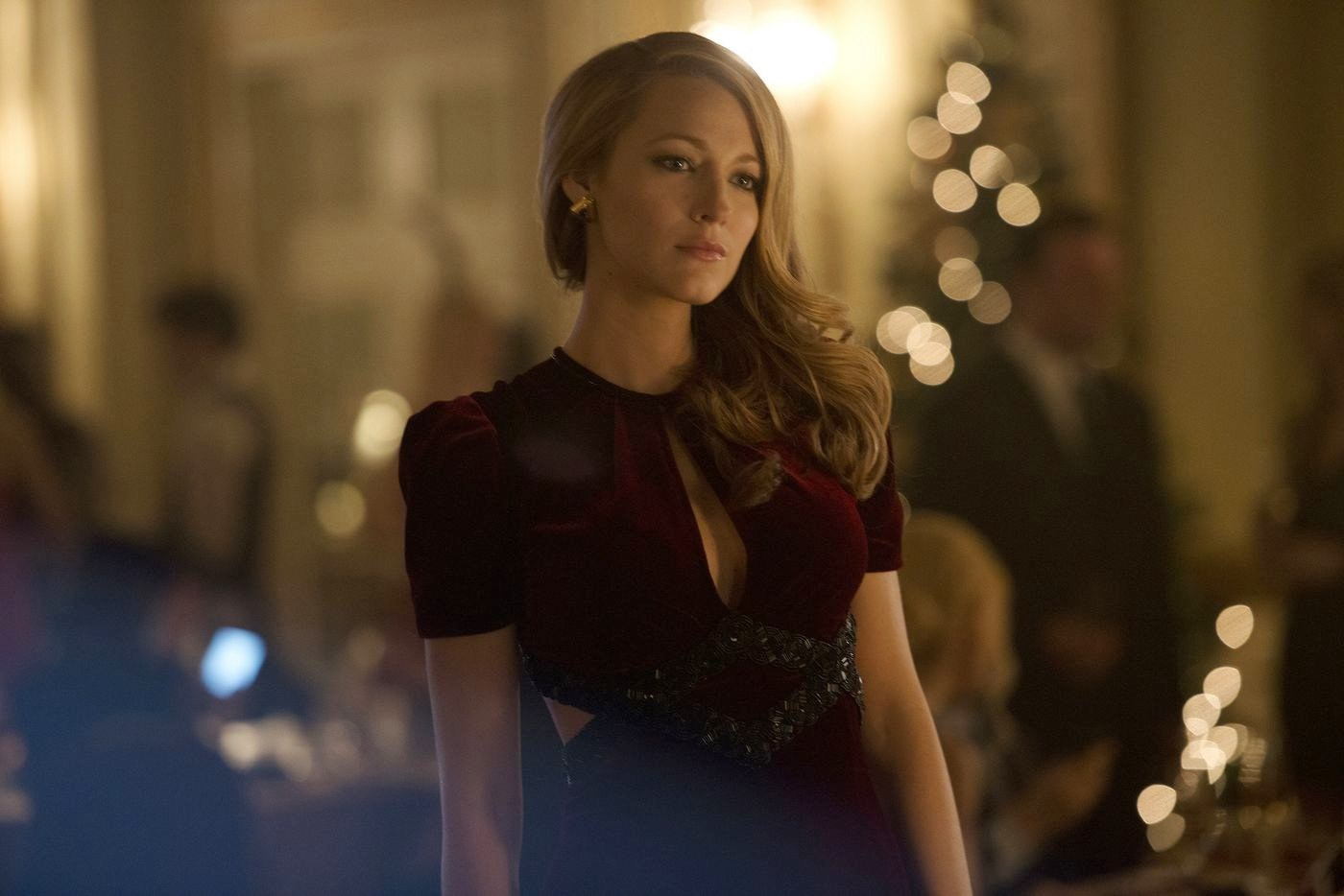 Blake Lively as Adaline Bowman, left unaging following a freak accident in The Age of Adaline (2015)