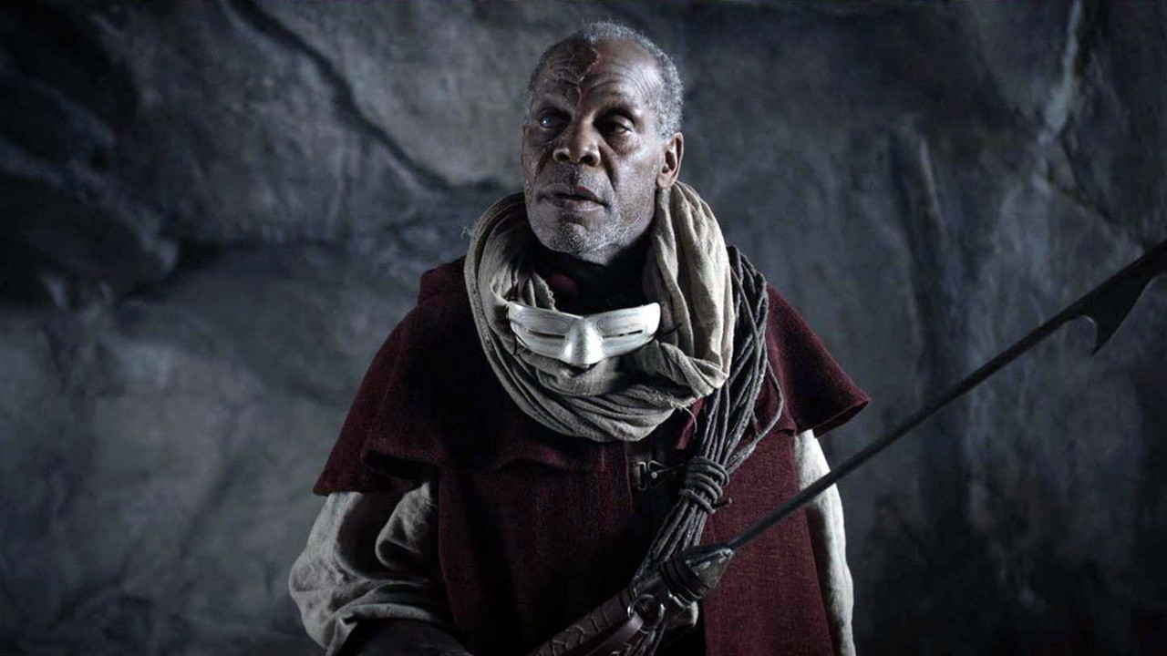 Danny Glover as Captain Ahab in Age of the Dragons (2011)