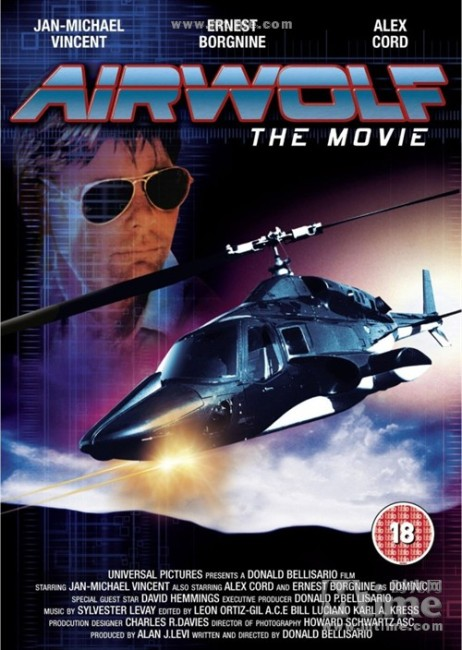 Airwolf (1985) poster