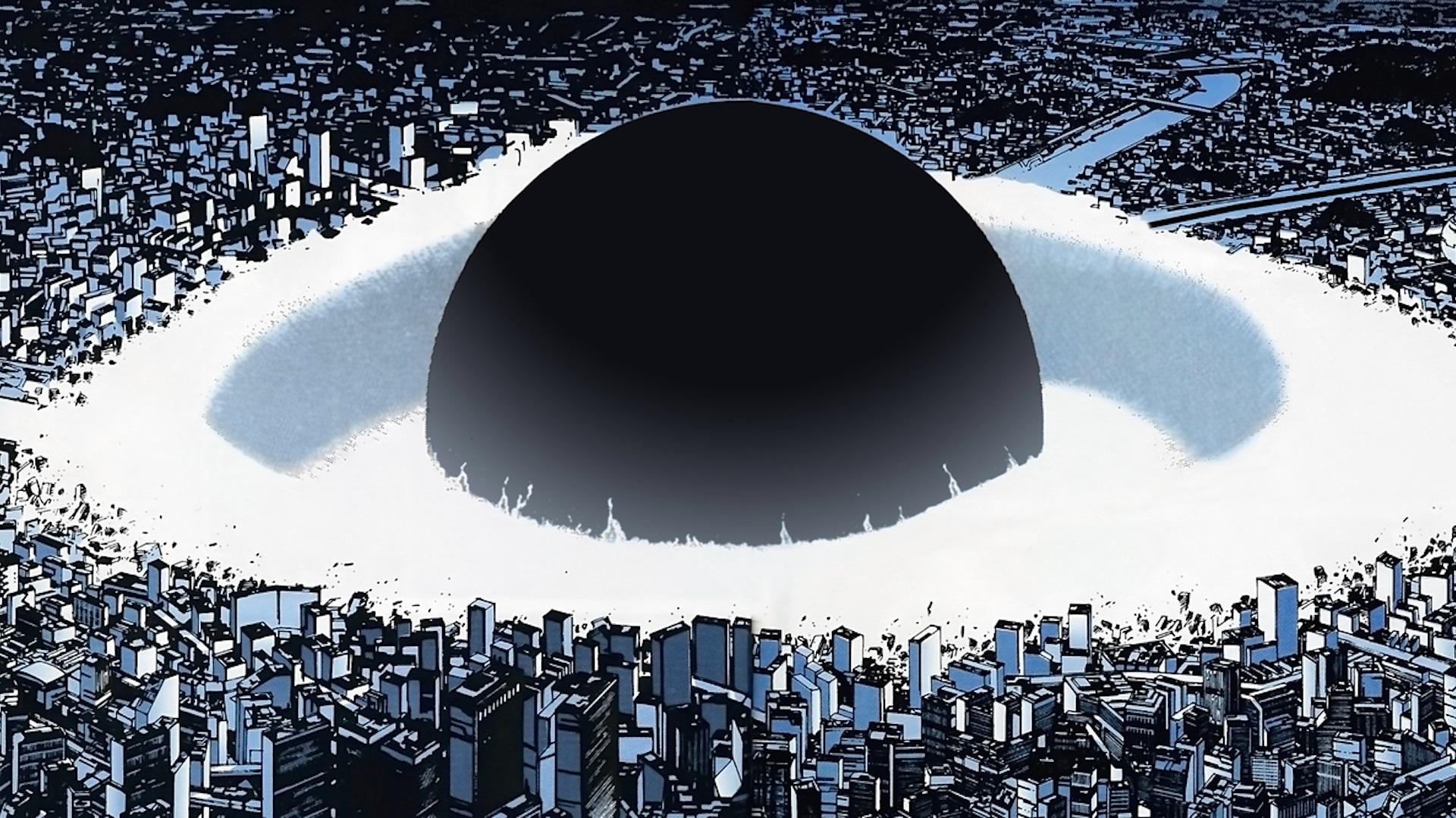 Neo-Tokyo in Akira (1988)