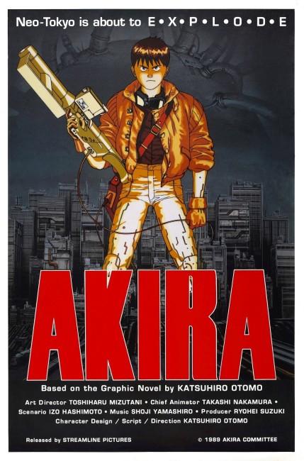 Akira (1988) poster