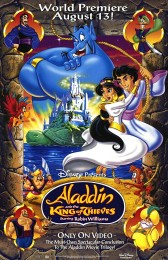 Aladdin and the King of Thieves (1996) poster