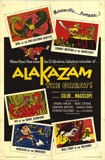 Alakazam the Great (1961) poster