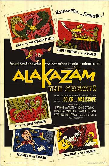 Alakazam the Great (1961) poster