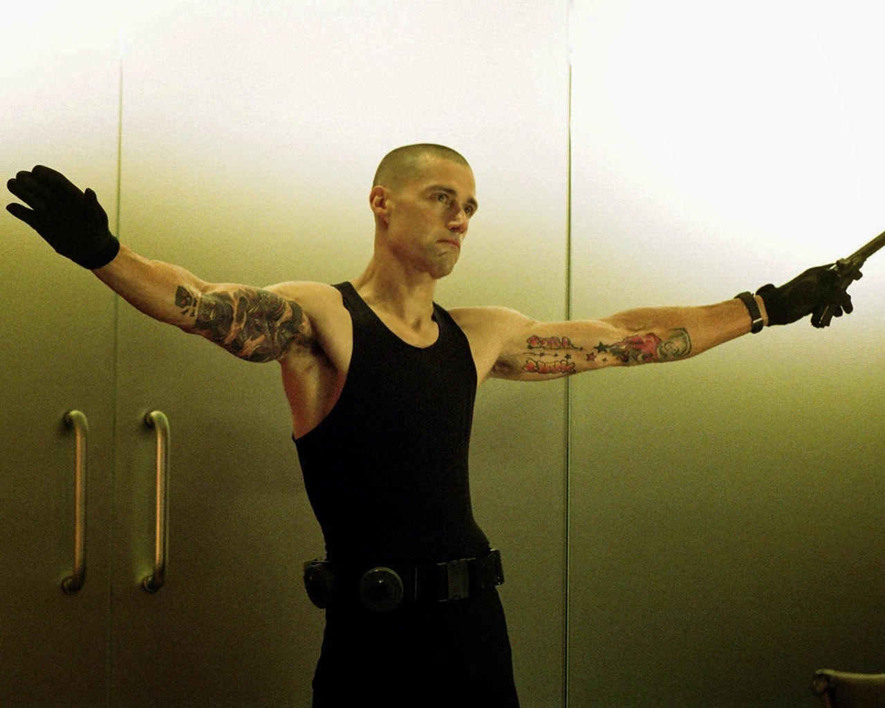 Matthew Fox as the serial killer Picasso in Alex Cross (2012)