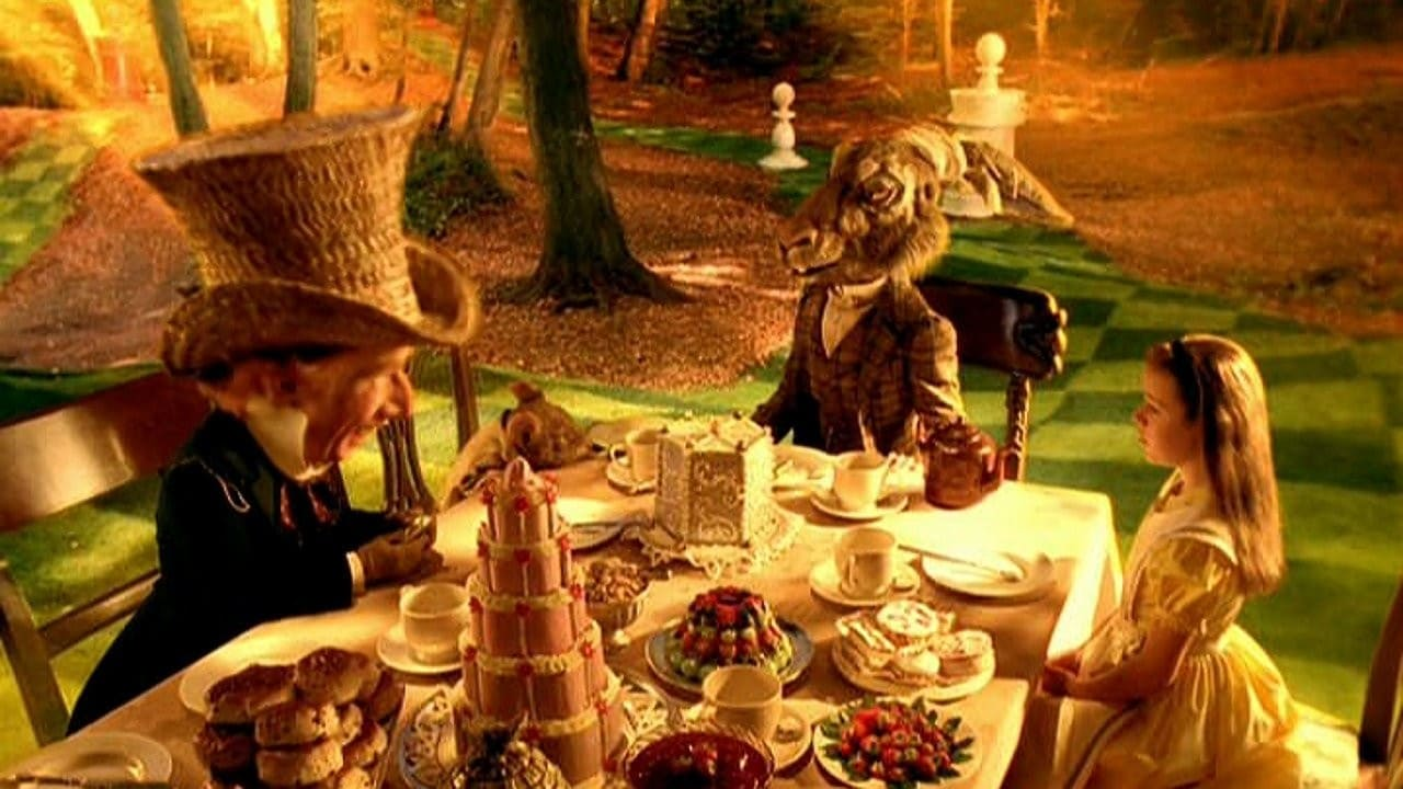The Mad Hatter's Tea Party in Alice in Wonderland (1999)