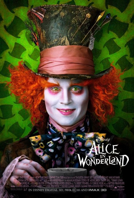 Alice in Wonderland (2010) poster
