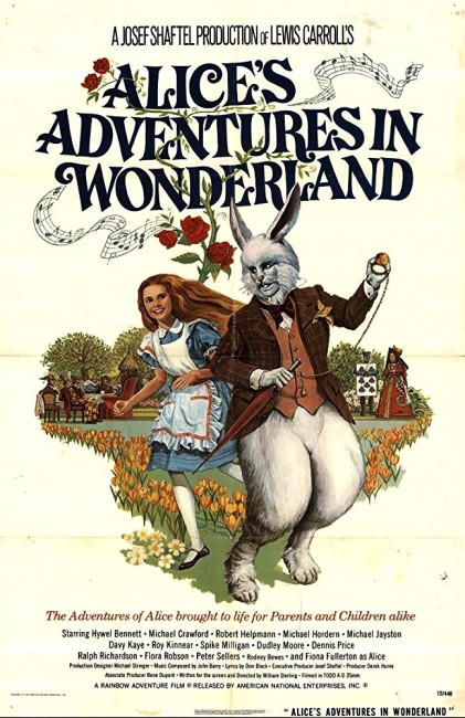 Alice's Adventures in Wonderland (1972) poster