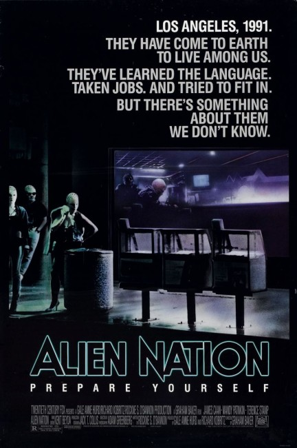 Alien Nation (1988) poster