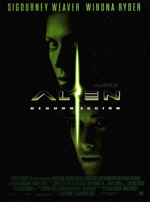 Alien: Resurrection (1997) poster