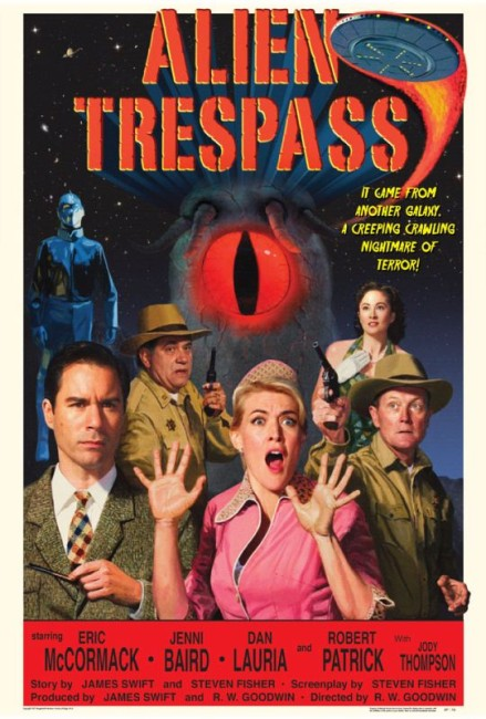 Alien Trespass (2009) poster