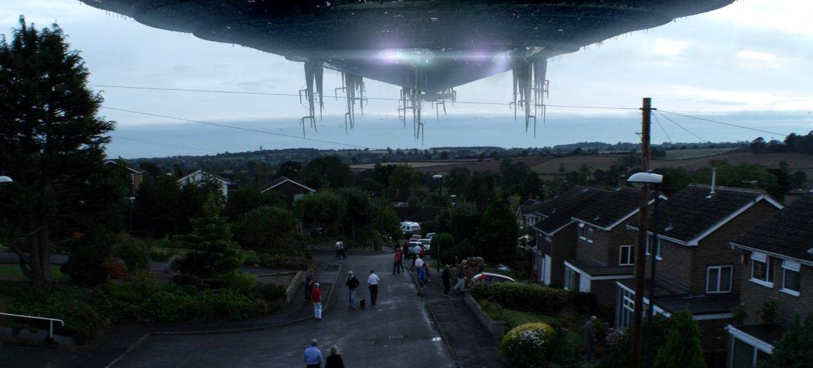 An alien invasion of England in Alien Uprising (2012)