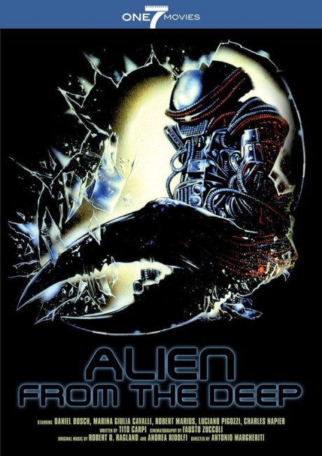 Alien from the Deep (1989) poster