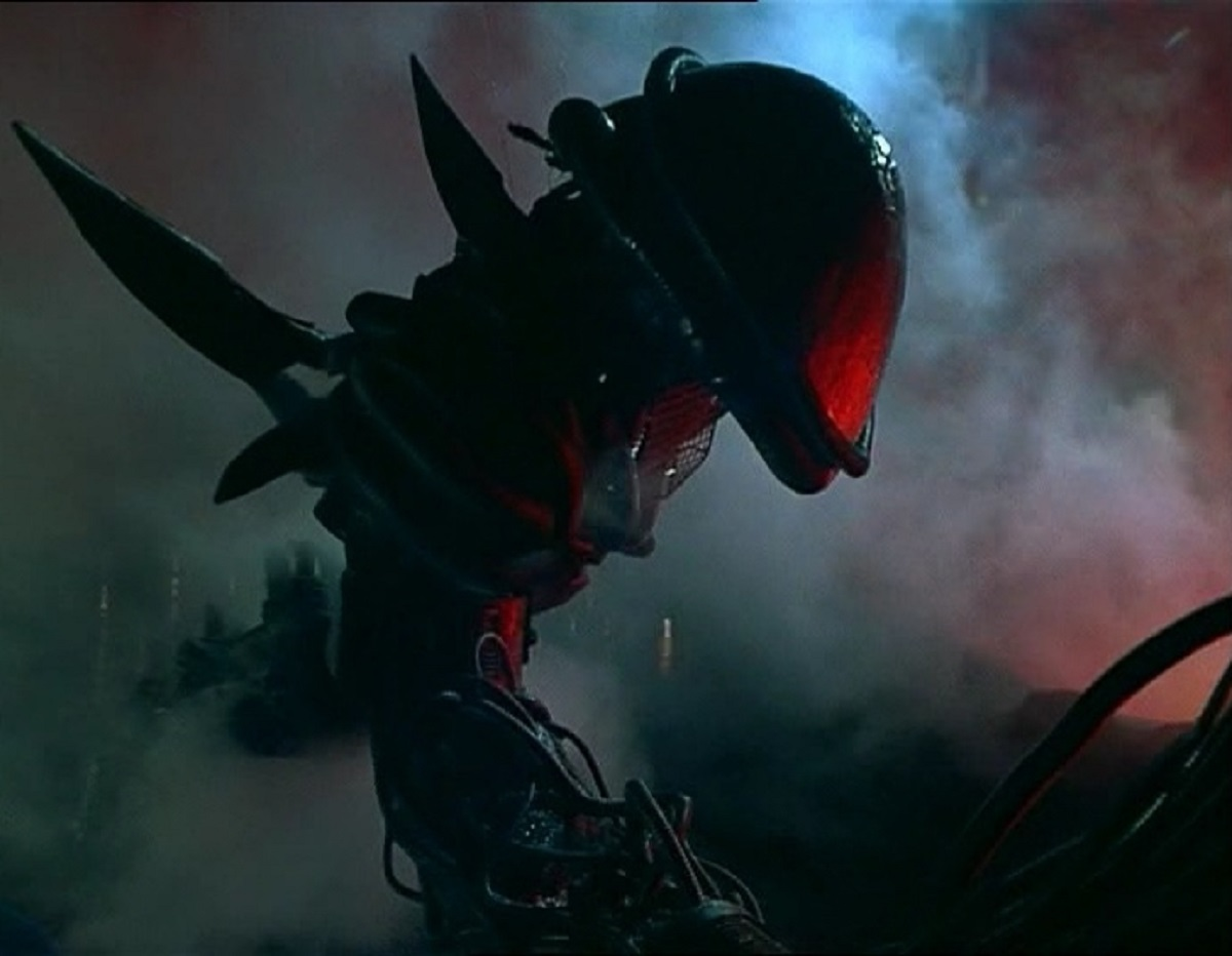 The alien monster in Alien from the Deep (1989)