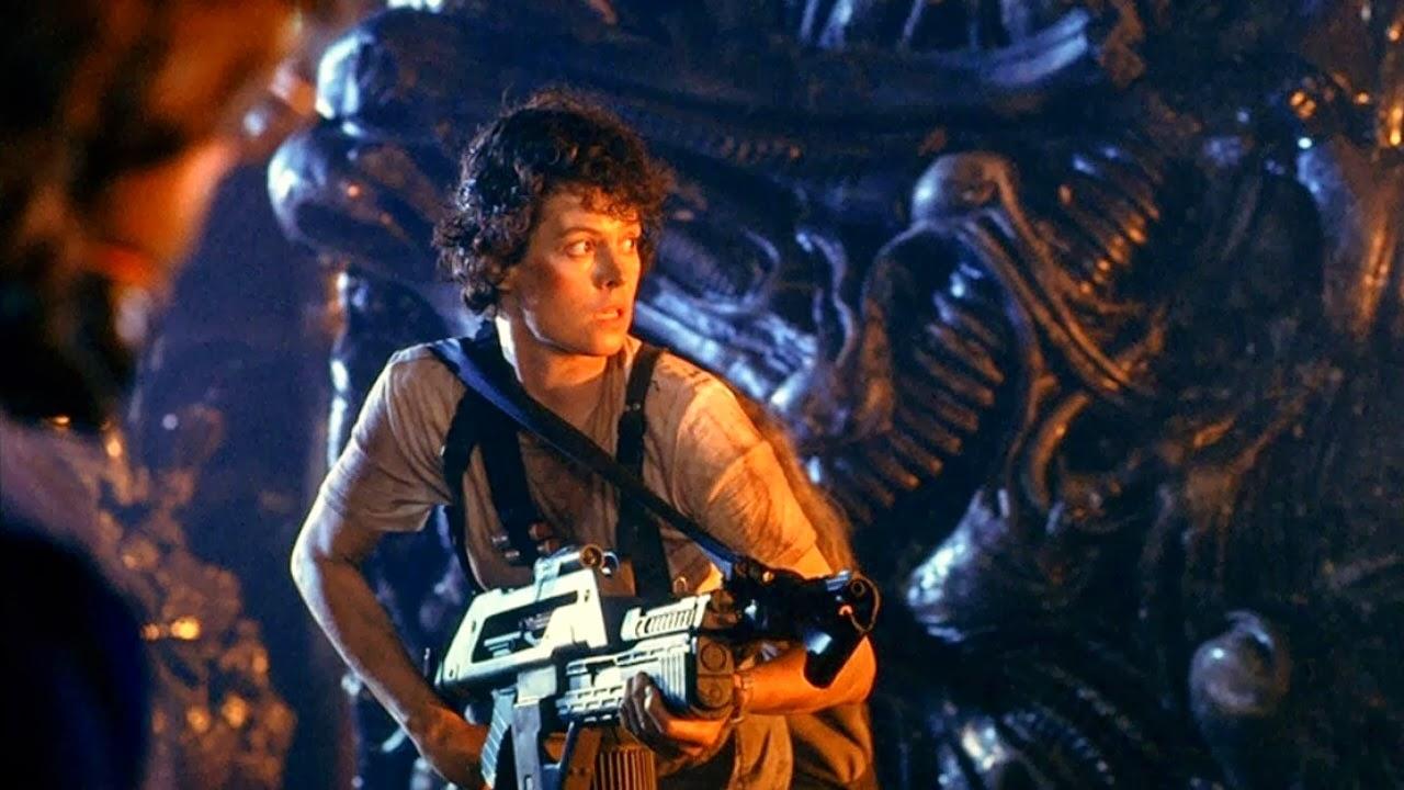 Sigourney Weaver in Aliens (1986)