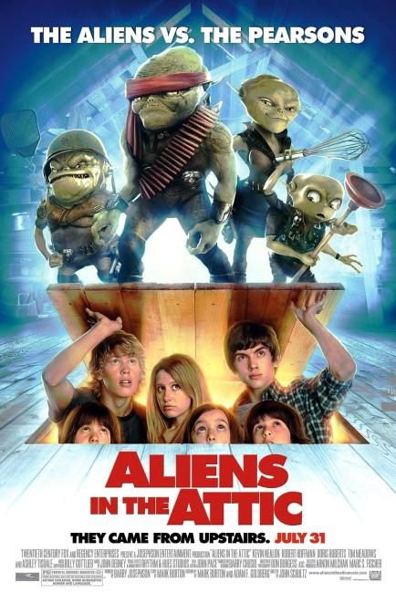 Aliens in the Attic (2009) poster