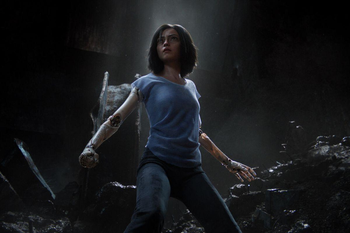 Rosa Salazar as Alita: Battle Angel (2019)