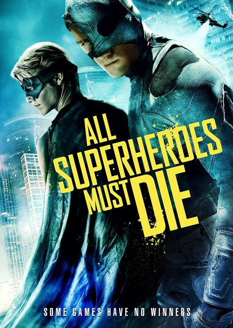 All Superheroes Must Die (2011) poster