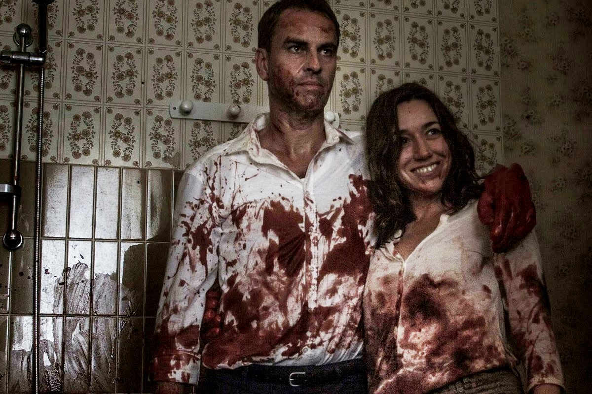 Michel (Laurent Lucas) and Gloria (Lola Dueñas), modernised equivalents of the Honeymoon Killers Raymond Fernandez and Martha Beck in Alleluia (2014)