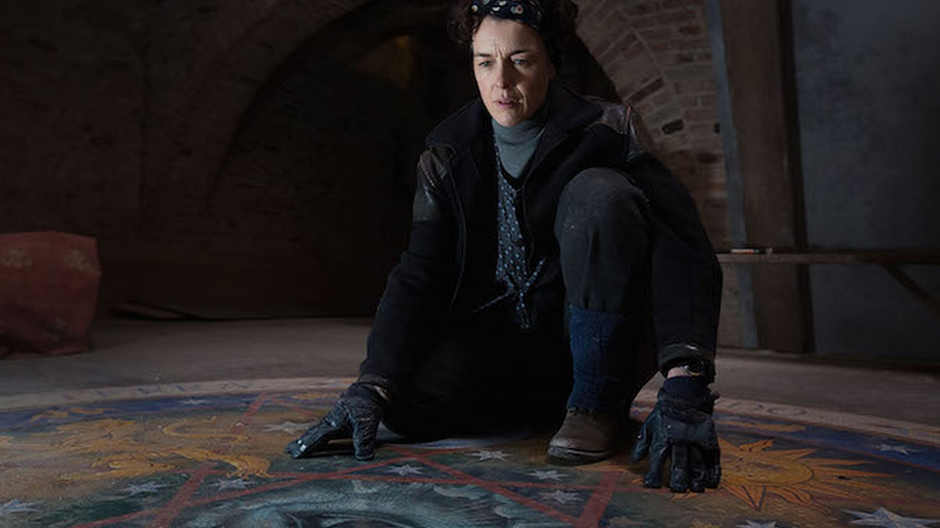Olivia Williams uncovers the altar in Altar (2014)