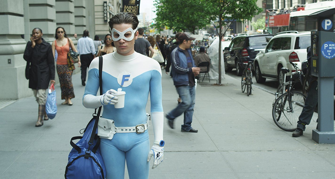 Kris Lemche as Fridge - superheroes in everyday situations in Alter Egos (2012)