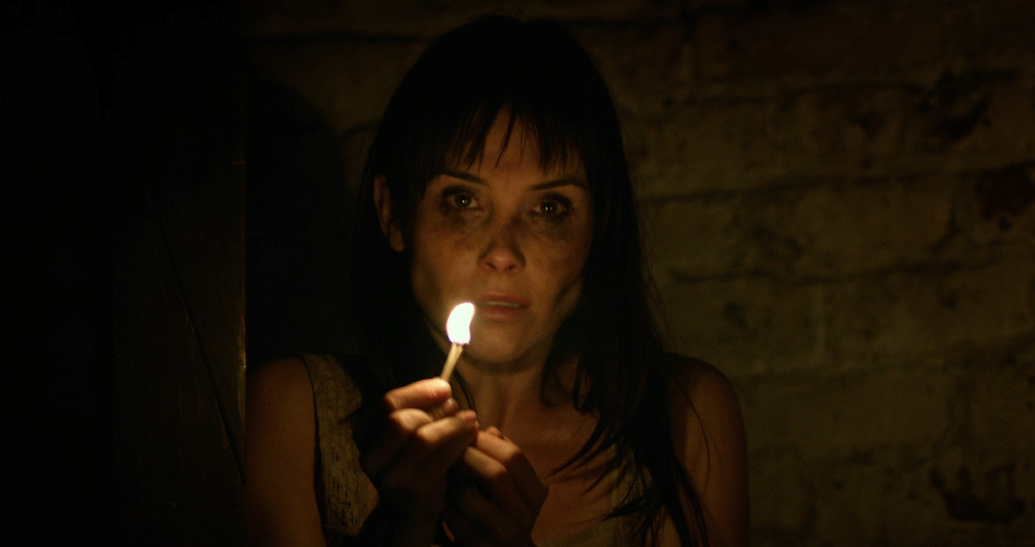 Kristina Anapau ventures through the haunted winery in Altergeist (2014)