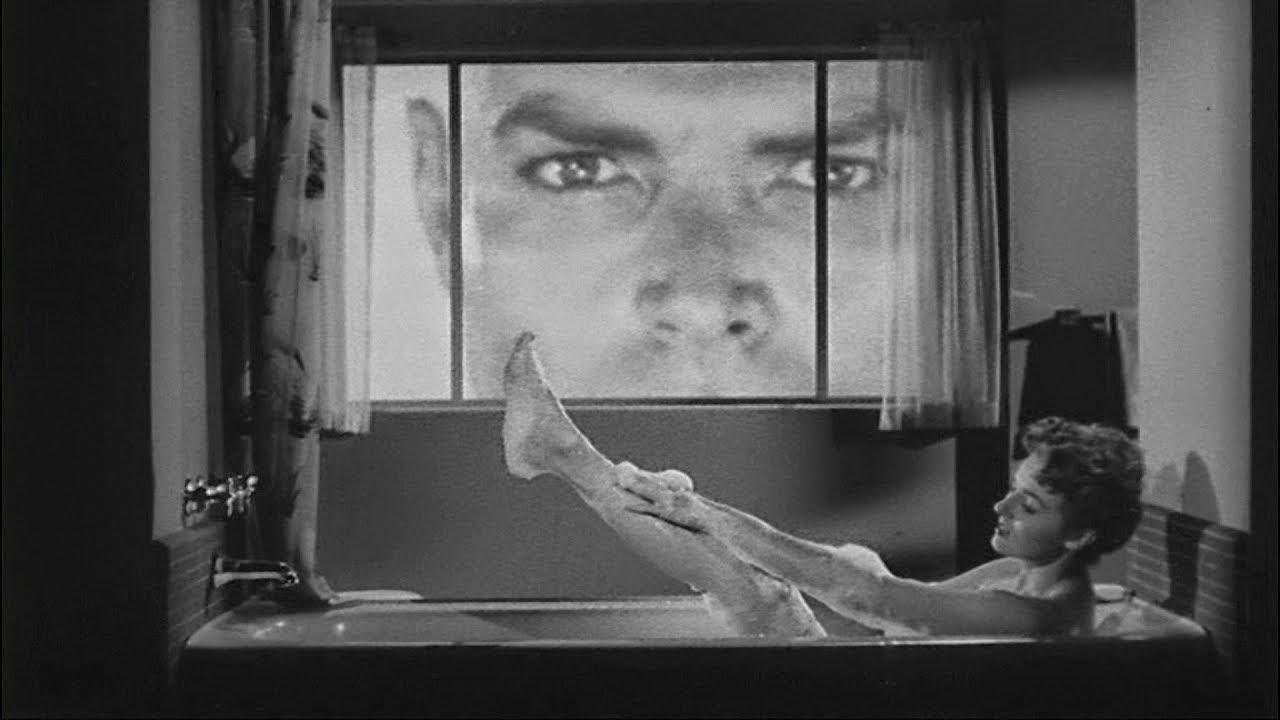 Glenn Langan - giant-size peeping tom in The Amazing Colossal Man (1957)