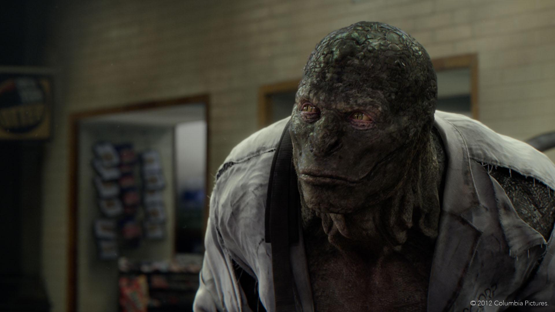 The Lizard (Rhys Ifans) in The Amazing Spider-Man (2012)