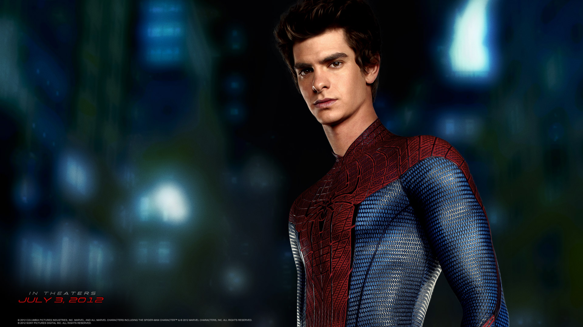 Andrew Garfield as Peter Parker/Spider-Man in The Amazing Spider-Man (2012)