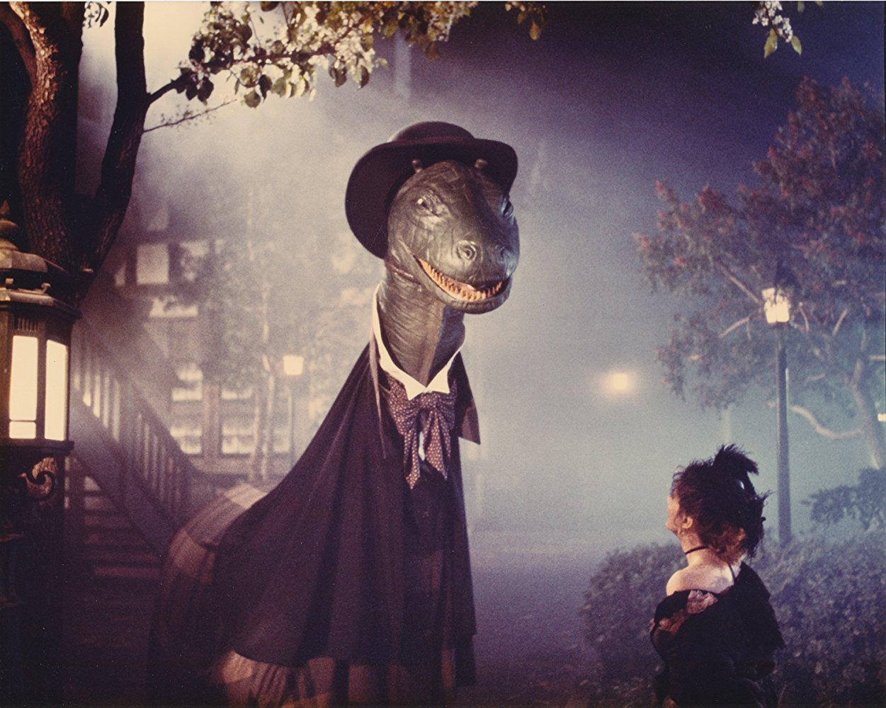 Was Jack the Ripper really the Loch Ness Monster? in Amazon Women on the Moon (1987)