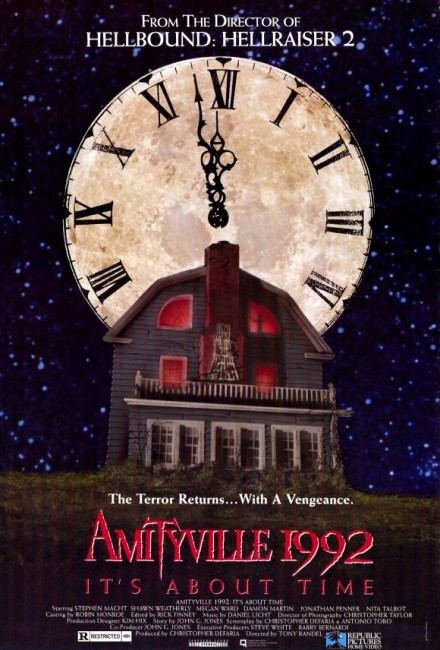 Amityville 1992: It's About Time (1992) poster