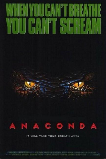 Anaconda (1997) poster