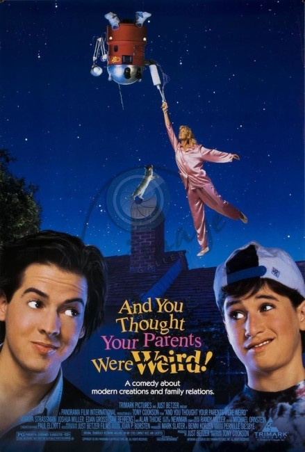 And You Thought Your Parents Were Weird (1991) poster